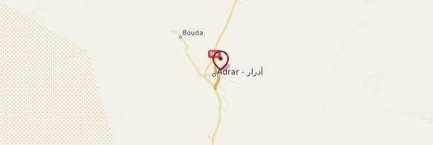 Carte Adrar - Algérie