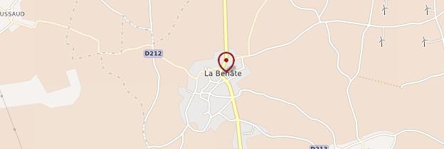 Carte Essouvert - Poitou, Charentes