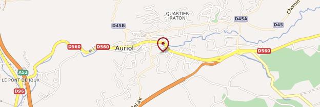 Carte Auriol - Provence