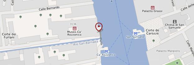Carte Ca' Rezzonico - Venise