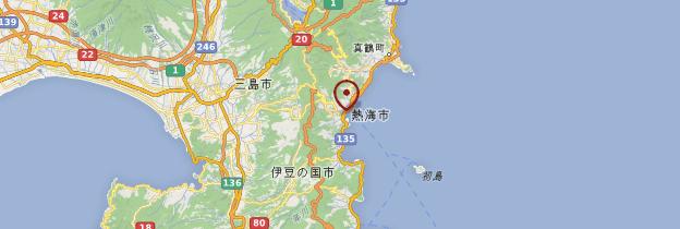 Carte Atami - Japon