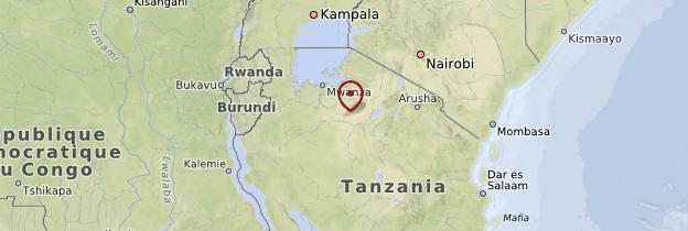 Carte Ikonda - Tanzanie