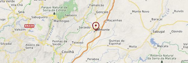 Carte Belmonte - Portugal