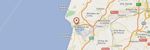 Carte Figueira da Foz - Portugal