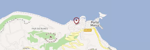 Carte Porto Moniz - Madère
