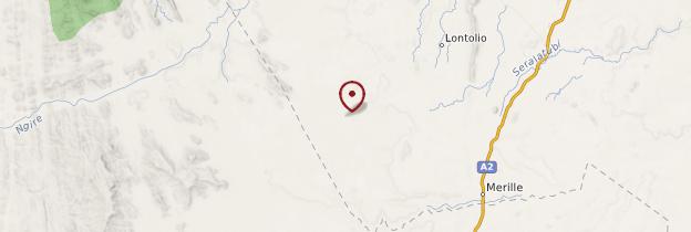 Carte Réserve nationale de Samburu - Kenya