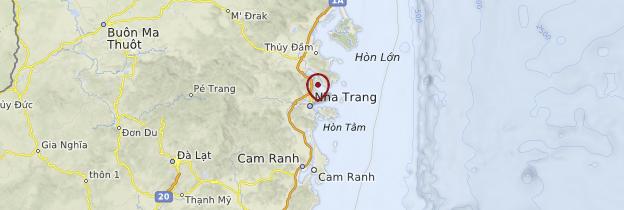 Carte Nha Trang - Vietnam