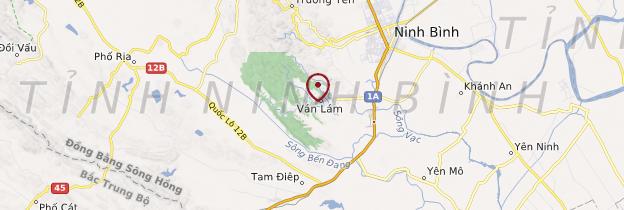 Carte Grottes de Tam Cốc (Baie d'Along terrestre) - Vietnam