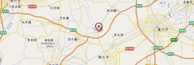Carte Wuzhen - Chine