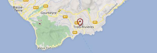 Carte Trois-Rivières - Guadeloupe