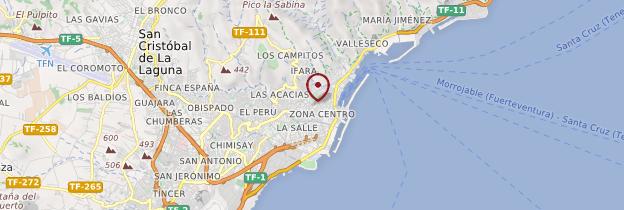 Carte Santa Cruz de Tenerife - Tenerife
