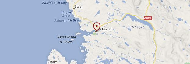 Carte Lochinver - Écosse