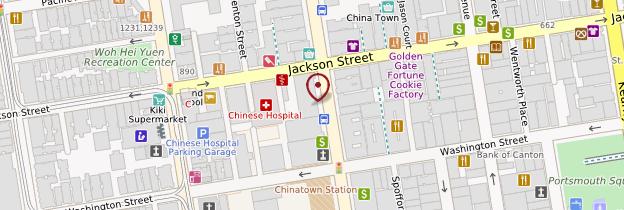 Carte Chinatown - San Francisco