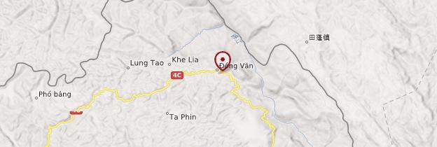 Carte Ðồng Vãn - Vietnam
