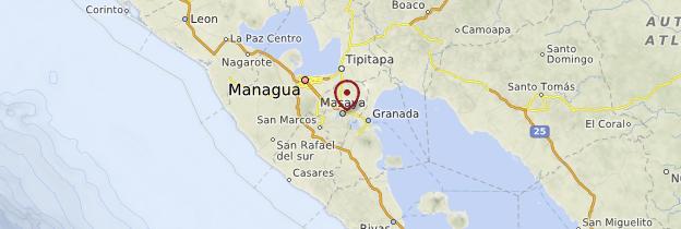 Carte Masaya - Nicaragua