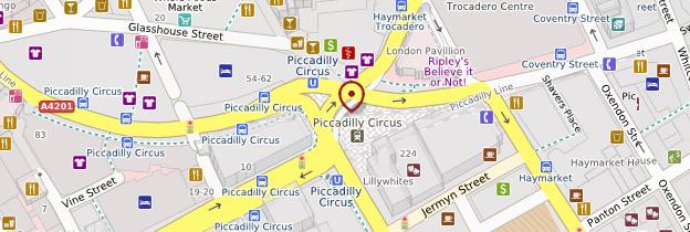 piccadilly circus centre touristique guide et photos londres rh routard com guide du routard londres restaurant guide du routard londres 3 jours