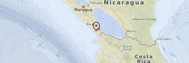 Carte San Juan del Sur - Nicaragua