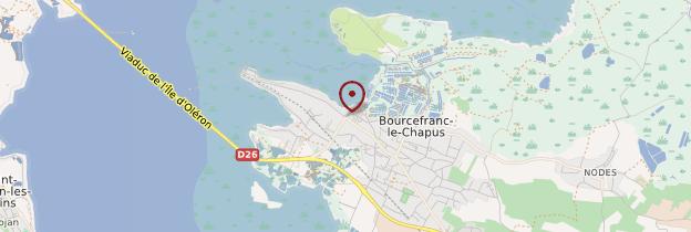 Carte Bourcefranc-le-Chapus - Poitou, Charentes
