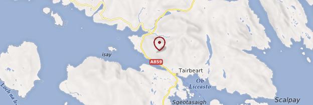 Carte Île de Lewis et Harris - Écosse