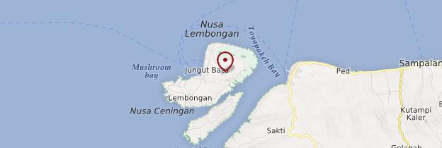 Carte Nusa Lembongan - Bali