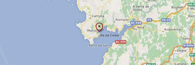 Carte Muros - Espagne