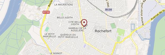 Carte Rochefort - Poitou, Charentes