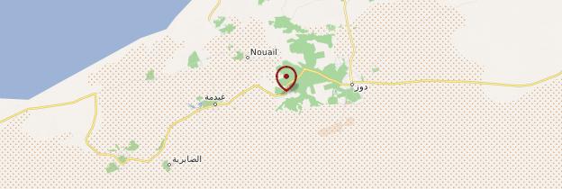 Carte Zaafrane - Tunisie