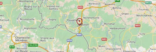 Carte Bouillon - Belgique