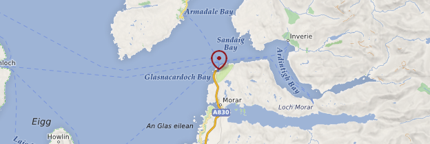 Carte Mallaig - Écosse