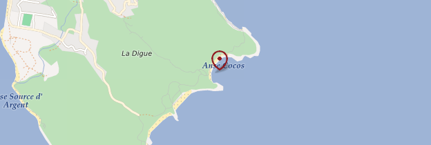 Carte Anse Coco - Seychelles