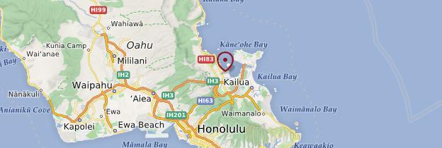 Carte Kaneohe - Hawaii