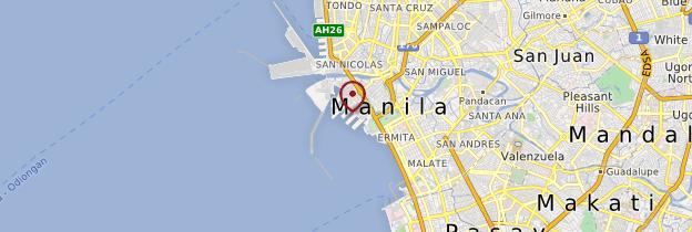 Carte Manille - Philippines