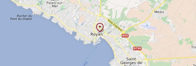 Carte Royan - Poitou-Charentes