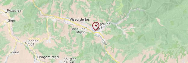 Carte Vallée de la Vaşer - Roumanie