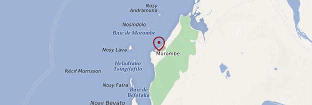 Carte Morombé - Madagascar