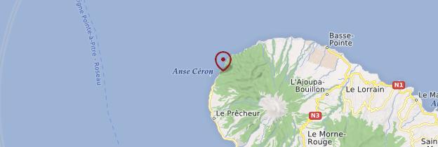 Carte Anse Couleuvre - Martinique