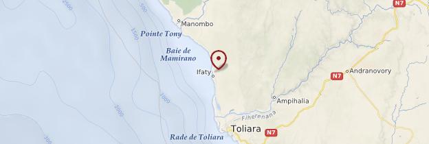 Carte Mangily - Madagascar
