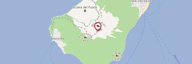 Carte Isola di Stromboli - Sicile