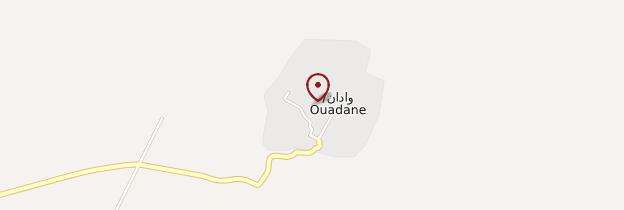 Carte Ouadane - Mauritanie