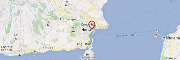 Carte Horta - Açores