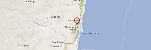 Carte Côte Nord - Australie