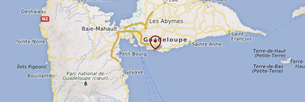 Carte Îlet du Gosier - Guadeloupe