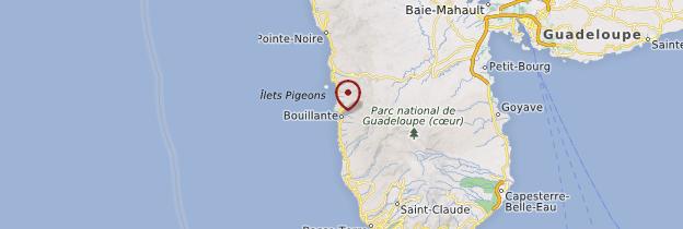 Carte Bouillante - Guadeloupe