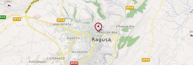 Carte Ragusa - Sicile