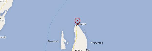 Carte Nungwi - Zanzibar