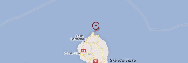 Carte Pointe de la Grande-Vigie - Guadeloupe
