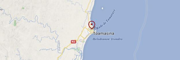 Carte Tamatave (Toamasina) - Madagascar