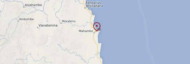 Carte Mahambo - Madagascar