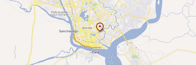 Carte Dala - Birmanie