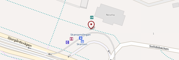 Carte Skansen - Stockholm